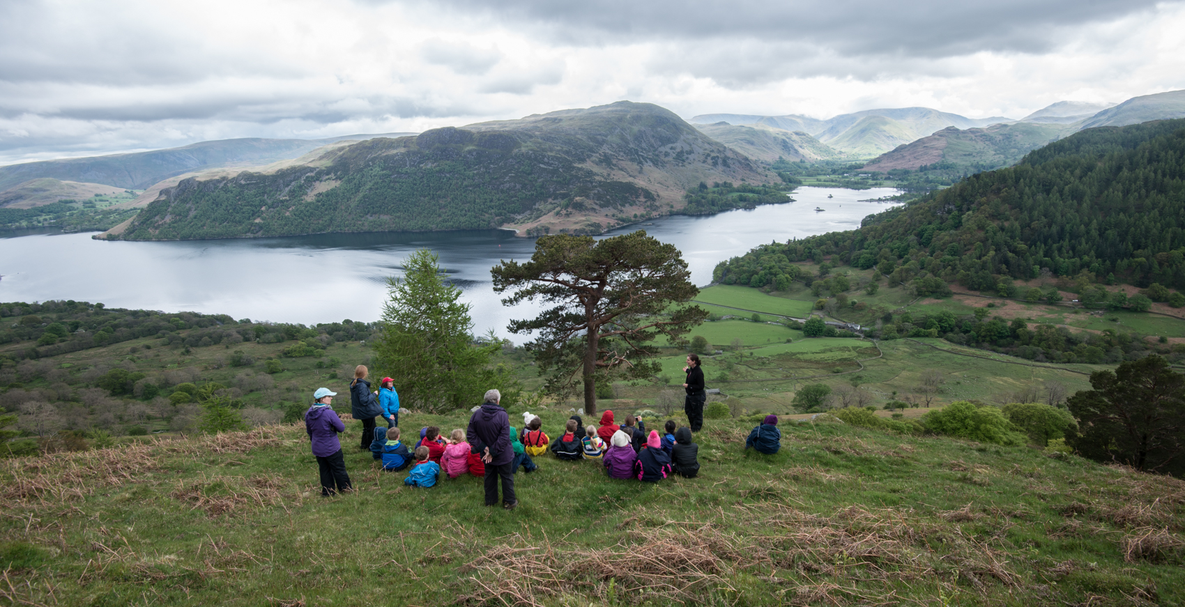 Patterdale School at the Glencoyne Pine