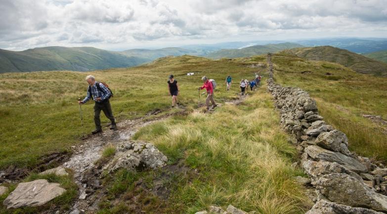 ascent above kirkstone